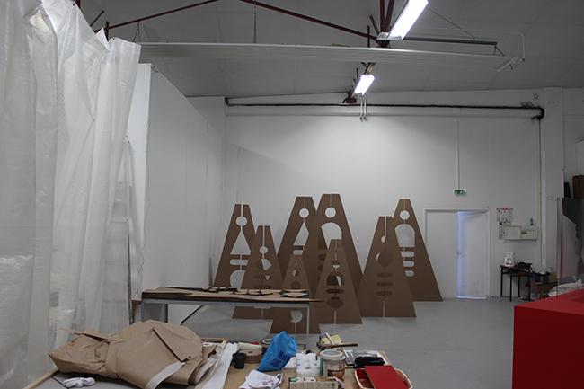 Vues d'atelier, décembre 2013
